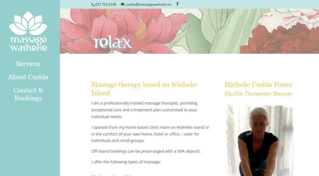 Massage Waiheke