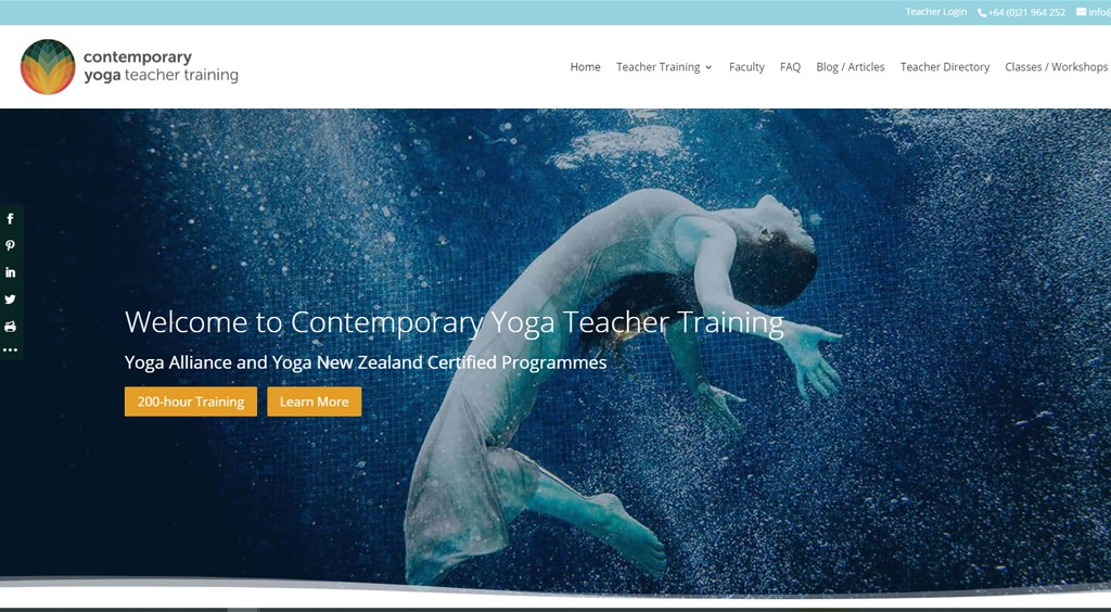 Contemporary Yoga Teacher Training